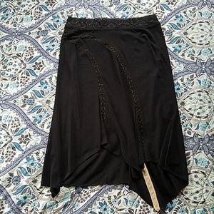 Express ~ Black Lacy Skirt